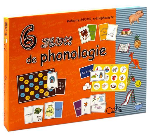 6 jeux de phonologie