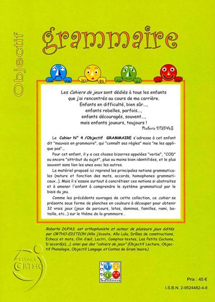 Objectif Grammaire