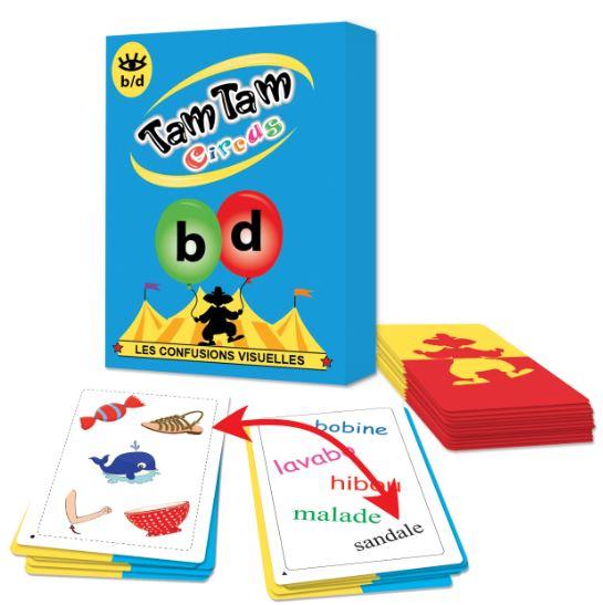 Tam Tam Circus - Les confusions visuelles b et d