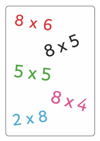 Tam Tam MultiMax 2 : les tables de x2 à x9