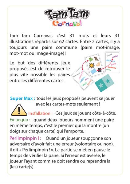Tam Tam Carnaval, La fête des sons /ail/eil/ouil/euil/