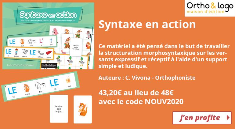 Syntaxe en action - Ortho & Logo
