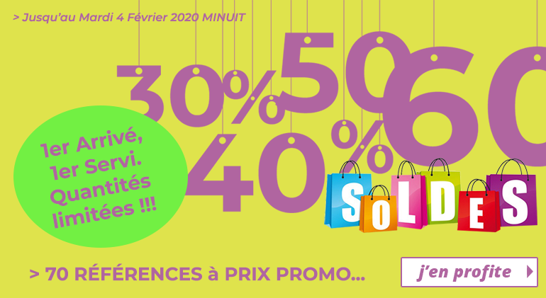 Soldes 2020 - Espace Orthophonie