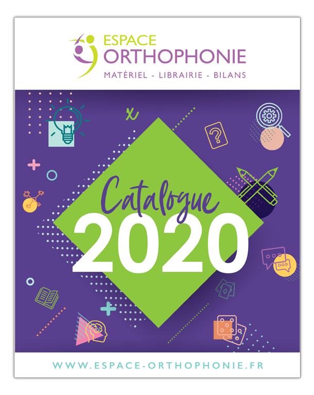 Catalogue 2019 Espace Orthophonie